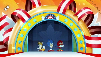 Opening Animation Cinematic de Sonic Mania