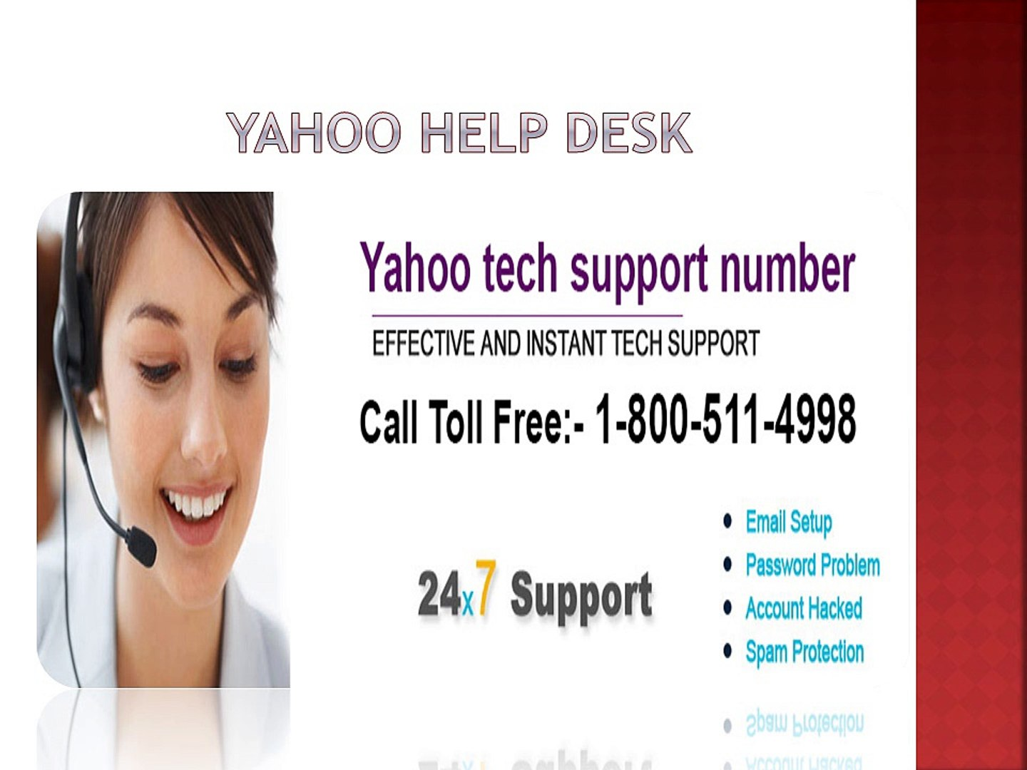 Yahoo help desk to resolve issues of yahoo