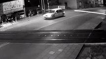 Une voiture fonce sur un passage à niveau alors qu'un train arrive, le drame évité de justesse !