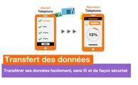 Transfert des données Orange - Applications Android et iOS - Orange