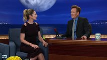 Judy Greer Mourned Her Dead Dog At Chipotle CONAN on TBS