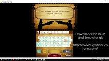 Professor Layton vs Phoenix Wright - Ace Attorney WIN10 Citra Emulator Gameplay PC