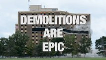 Spine-tingling Examples of Epic Demolitions