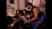 Kristal, Vickie Guerrero and Chavo Guerrero Backstage Segment