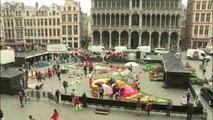 Bélgica celebra el verano con más de 100.000 flores en el corazón de Bruselas
