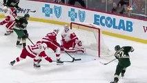 Detroit Red Wings vs Minnesota Wild NHL Game Recap
