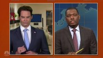 Bill Hader Portrays Anthony Scaramucci on 'SNL: Weekend Update Summer Edition' | THR News