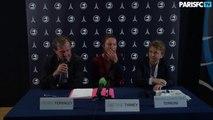 Conférence de presse Gaëtane Thiney