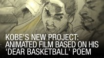 Kobe's New Project: Animated Film Based On His 'Dear Basketball' Poem