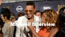 HHV Exclusive: Maxwell tests his hip hop knowledge and gives hilarious answer at #BlackGirlsRock