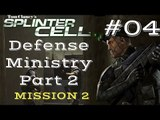 Splinter Cell Gameplay | Let's Play Tom Clancy's Splinter Cell - Defense Ministry 2/2 (Mission 2)