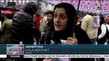 Argentinos denuncian retrocesos en DDHH desde llegada de Macri al gob.
