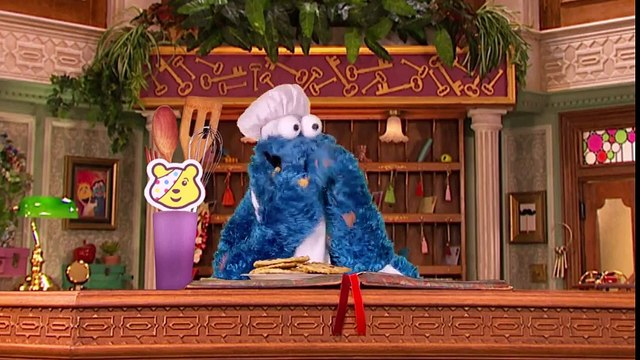 Cookie Monster Becomes a Baking Hero for Children In Need - CBeebies The Furchester Hotel