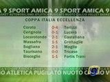 CALCIO. Risultati I Turno Coppa Italia Eccellenza