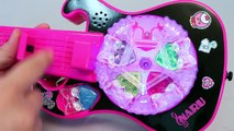 Pretty Rhythm Rainbow Live jewelry Guitar Tayo Learn Numbers Colors Toy Surprise