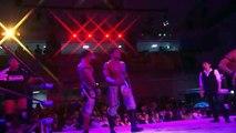 Jimmyz (Jimmy Kagetora & Ryo Jimmy Saito) & Masaaki Mochizuki vs. MaxiMuM (Ben-K, Kotoka & Masato Yoshino) - Dragon Gate King of Gate (2017) - Day 13