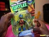 NICKELODEON TEENAGE MUTANT NINJA TURTLES LEONARDO TURTLES LEADER FIGURE REVIEW + UNBOXING Toys BABY Videos
