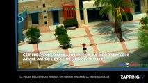 Etats-Unis : la police de Las Vegas tire sur un homme désarmé, la vidéo scandale