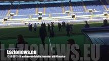 12-8-2017 - Supercoppa, il walkaround della Juventus all'Olimpico