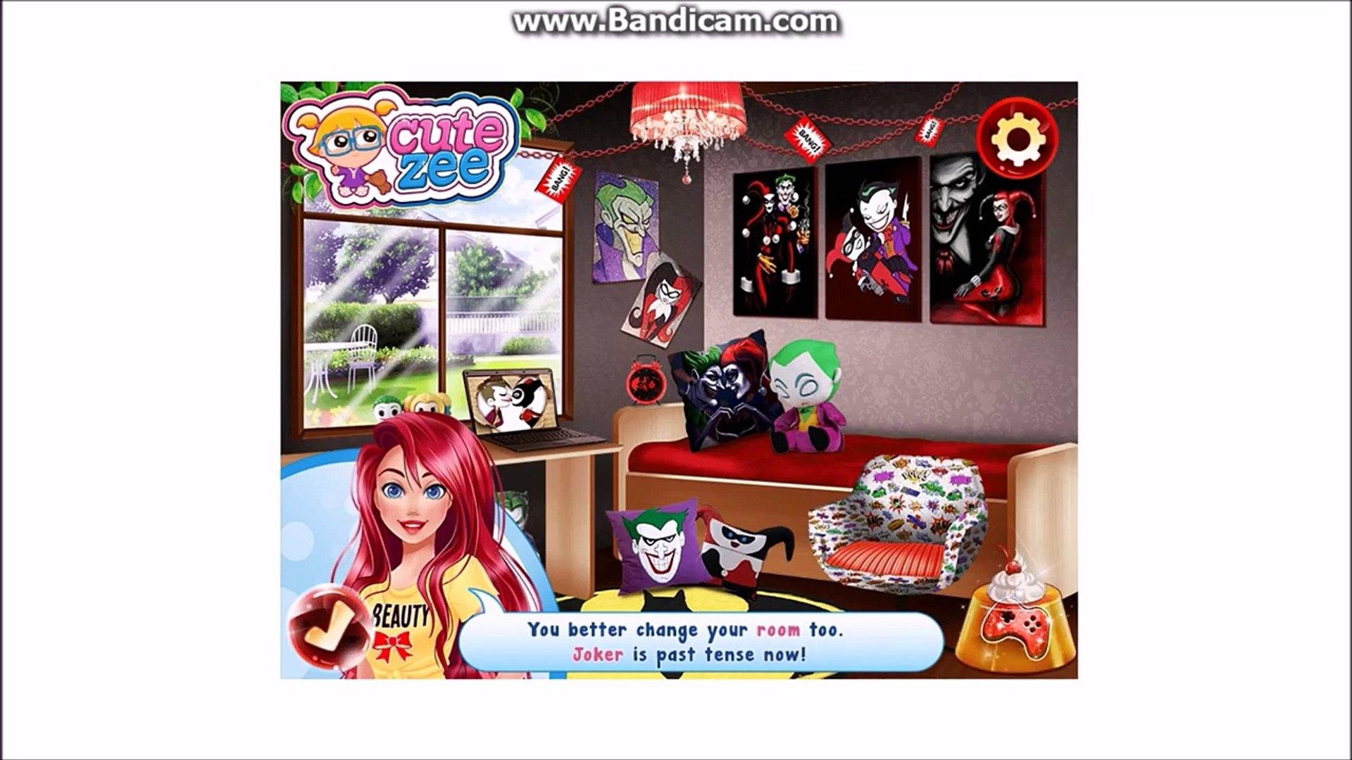 Harley Quinn Makyaj ve Giydirme Oyunu Harley Quinn Game