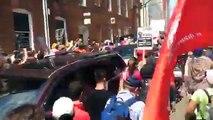 Charlottesville: une voiture percute des manifestants anti-racisme, des blessés