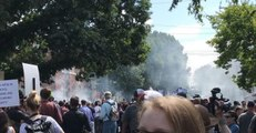 Tear Gas Fired as Alt-Right and Counter-Protesters Clash in Charlottesville