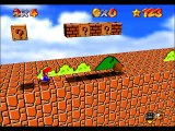 Super Mario Bros Recreation in Mario 64 - Any % Speedrun