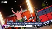 Sacré champion du monde du décathlon, Kevin Mayer entre dans une autre dimension