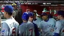 2008 Cubs: Ted Lilly drives in Mark DeRosa with a single vs D Backs (7.23.08)