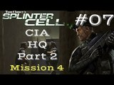 Splinter Cell Gameplay | Let's Play Tom Clancy's Splinter Cell - CIA HQ 2/3 (Mission 4)