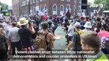 Emeutes entre néo-nazis et manifestants aux USA en Virginie !