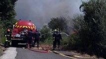 Incendie en Haute-Corse: 2.000 hectares partis en fumée