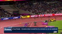 Athlétisme: Yohann Diniz, champion du monde 50km de marche