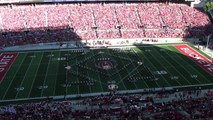 Ohio State Marching Band Americas Pastime Baseball Halftime Show 10 08 2016 OSU vs Indian