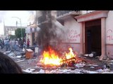 Guanajuato: Queman alcaldía de Pueblo Nuevo por resultado electoral