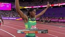 Mondiaux d'athlétisme : Caster Semenya au dessus du lot sur 800 m !