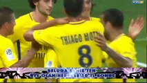 Edinson Cavani Goal (Neymar First Assist) HD - Guingamp 0 - 2 Paris SG 13.08.2017