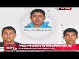 ¡ÚLTIMOS DETALLES! Informe sobre la desaparición de los 43 normalistas de Ayotzinapa (parte 1)