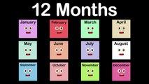 Months of the Year Song/12 Months of the Year Song/Calendar Song
