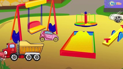 ✔ El Excavadora, Camiónes | Caricaturas de carros. Coches Para Niños. Tiki Taki Carros ✔