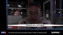 Seine-et-Marne : Une voiture fonce dans une pizzeria, le témoignage choc d'un témoin (Vidéo)