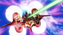 [1080p] ~ To Strike freedoms first launch ~ Gundam SEED Destiny HD Remaster