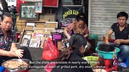 VIETNAM TRAVEL_BUN CHA_HA NOI