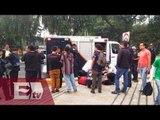 Disturbios en enfrentamientos entre policías y estudiantes en Ciudad Universitaria