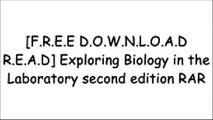 [RDsRe.[FREE] [DOWNLOAD] [READ]] Exploring Biology in the Laboratory second edition by Murray P. Pendarvis, John L. CrawleyPhilip YanceyJane B. ReeceScott Freeman [P.D.F]