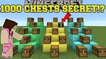 PopularMMOs Minecraft  1000 CHESTS SECRET!! - DAVID AND THE 1000 CHESTS! - Custom Map