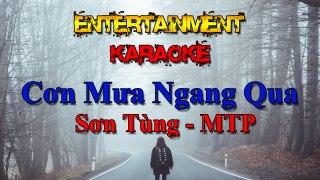 Karaoke Cơn Mưa Ngang Qua Sơn Tùng MTP Nhạc