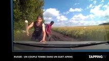 Russie : Un couple tombe dans un guet-apens en pleine campagne (Vidéo)