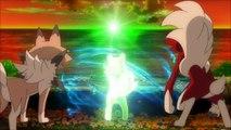 Ashs Rockruff Evolves Into Dusk Lycanroc! Pokemon Sun & Moon Anime Episode 37 [RAW]