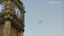 Des avions de ligne frappés par la foudre pendant 90 secondes non stop.